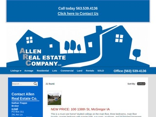 Allen  Real Estate Co