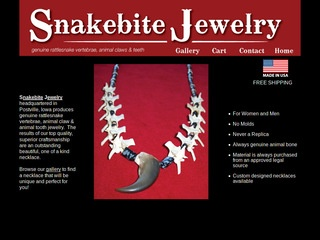 Snakebite Jewelry