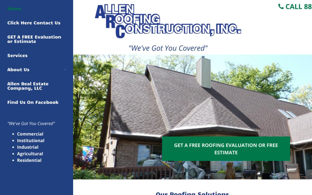 Allen Roofing Construction Inc